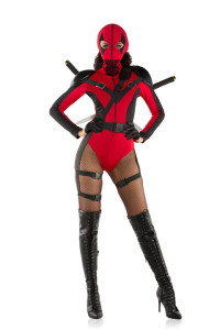 S6115 Dead Assassin Womens Costume