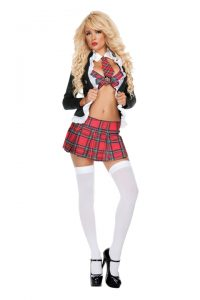 S1199 Uptown School Girl Womens Costume