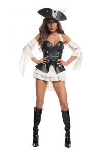 S2013 Black Pearl Pirate Womens Costume