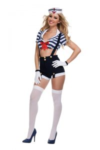 S2030 Harbor Hottie Womens Sailor Costume