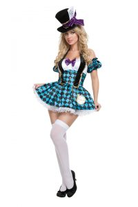 S2108 Mad Hatter Womens Costume