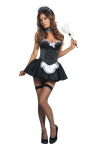 S2183 Seductive Maid Sexy Womens Costume
