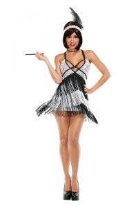 S3019 Boardwalk Flapper Womens Costume