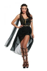 S3278 Dark Goddess Womens Costume