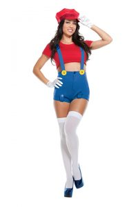 S3335 Red Player Womens Costume