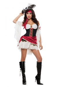 S4367 Pirates Playmatey Womens Costume