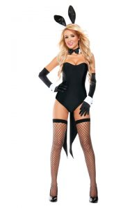 S4517 Naughty Nights Bunny Womens Costume