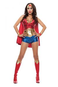 S4560 Wonder Lady Womens Costume