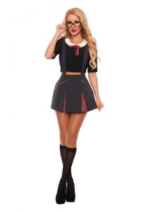 S5005 Innocent School Girl Womens Costume
