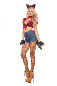 S5007 Sexy Hungry Werewolf Womens Costume