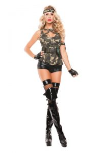 S5014 Special Forces Womens Army Costume