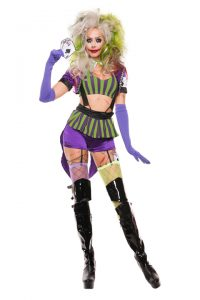 S5140 Mad Gambler Womens Costume