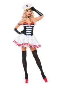 S5155 Mistress Sailor Womens Costume