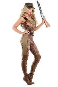 S6011 Hunter Hottie Womens Costume