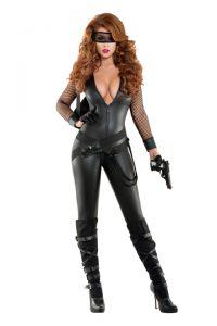 S6016 Bankrobber Babe Womens Costume