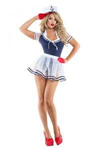 S6022 Shipmate Sweetie Womens Sailor Costume
