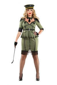 S6027X Plus Size Army Brat
