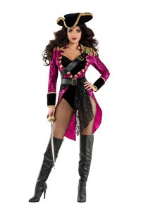 S6033 Sexy Swashbuckler Womens Pirate Costume
