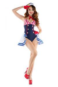 S6071 Skimpy Sailor Womens Costume