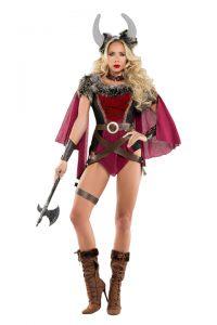 S6083 Voluptuous Viking Womens Costume