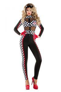 S6097 Racy Racer Womens Costume