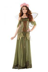 S6116 Rose Fairy Princess Womens Costume