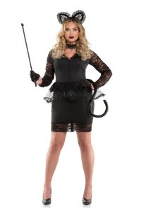 S6149X Plus Size Ms Meow Womens Costume