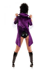 S6191 Darn Hot Nikki Womens Costume - Back View
