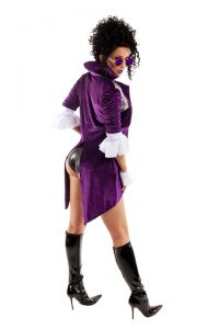 S6191 Darn Hot Nikki Womens Costume - Side View