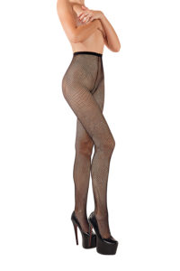 SH001 Starline Fishnet Tights Black
