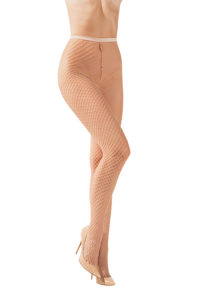 SH002 Starline Net Tights Nude