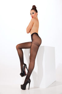 SH017 Starline Basic Sheer Tights Black