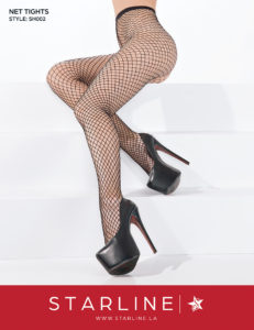 Boxed SH002 Net Tights