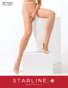 Boxed SH002 Net Tights Nude