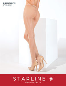 Boxed SH017 Sheer Tights Nude