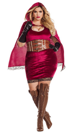 Starline S7110X Red Riding Hood Costume - A