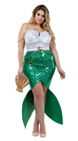 Starline S8022X Alluring Sea Siren Costume - A
