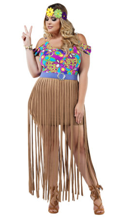 Starline S8023X Hippy Costume - A