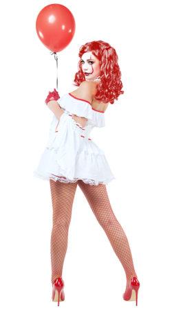 Starline S9030 Evil Clown Hottie Costume - B