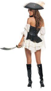 Starline S2013 Women's Black Pearl Pirate Costume B