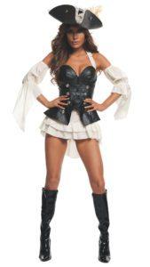 Starline S2013 Women's Black Pearl Pirate Costume A