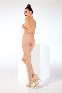 SH017 Starline Basic Sheer Tights Nude