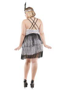S3019X Plus Size Boardwalk Flapper Womens Costume