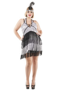 S3019X Boardwalk Flapper Womens Costume