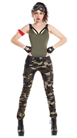 Starline S8062 Nighttime Gamer Soldier Costume - A