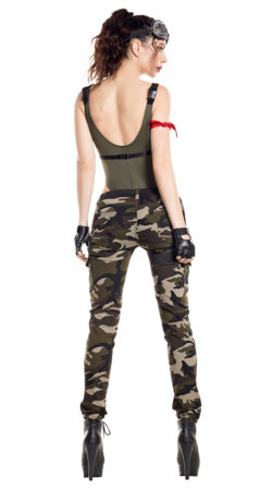 Starline S8062 Nighttime Gamer Soldier Costume - B
