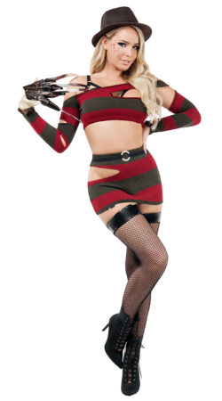 Starline S9007 Sleepless Slasher Costume - A