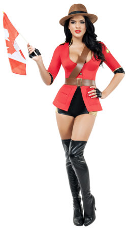 Starline S9014 Mesmerizing Mountie Costume - A