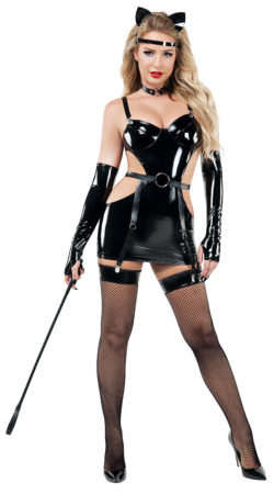 Starline S9016 Latex Cat Costume - A