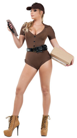 Starline S9020 Package Handler Hottie Costume - A